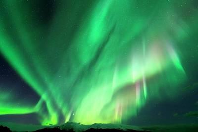 2012 Photograph - Aurora Borealis by Jeremy Walker