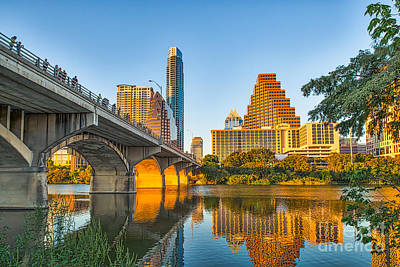 Texas Cities Photograph - Austin City Glow by Tod and Cynthia Grubbs