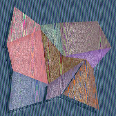 Four Digital Art - Austin by Gareth Lewis