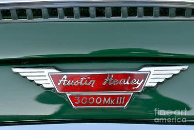 Old Photograph - 1967 Austin Healey 3000 Mkiii by George Atsametakis