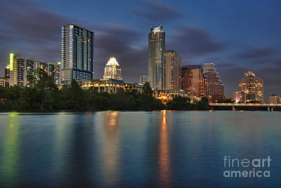 Austin Skyline Photograph - Austin Skyline 1 by Richard Mason
