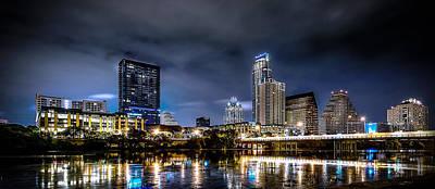 Austin Photograph - Austin Skyline Hdr by David Morefield