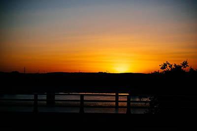 Photograph - Austin Sunset by Tony Boyajian