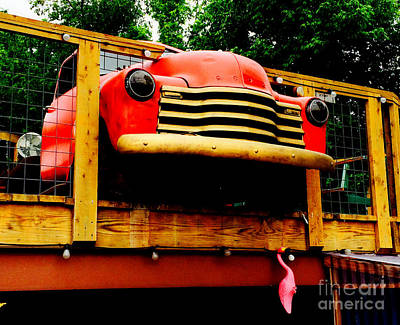 Tex-mex Photograph - Austin Texas - Maria's Taco Express - Luther Fine Art by Luther   Fine Art