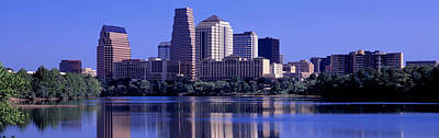Texas Cities Photograph - Austin Tx Usa by Panoramic Images