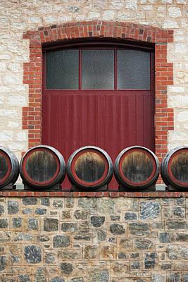 Winery Photograph - Australia, Barossa Valley, Angaston by Walter Bibikow