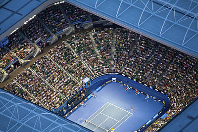 Human Being Photograph - Australlian Open Tennis Venues, Rod by Brett Price
