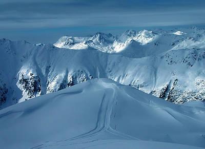 Austria Mountain Ischgl Print by Colette V Hera  Guggenheim