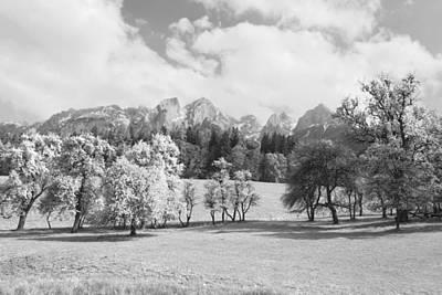 Landscape Photograph - Austrian Landscape by Brooke Ryan