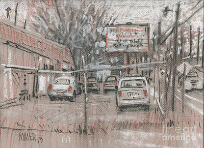 Auto Drawing - Auto Repair by Donald Maier