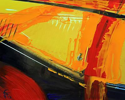 Abstract Composition No 2 Original by Walter Fahmy