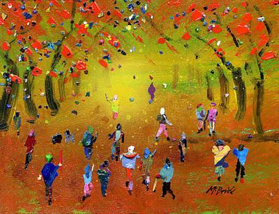 Autumn Amble Print by Neil McBride