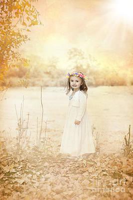 Daydreams Art Photograph - Autumn Angel by Cindy Singleton