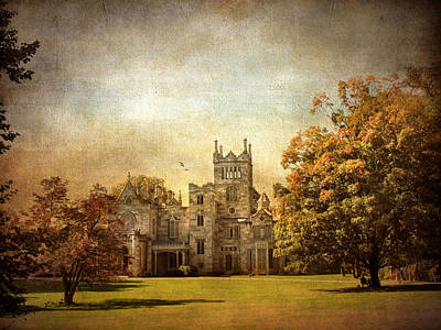 Rural Digital Art - Autumn At Lyndhurst by Jessica Jenney