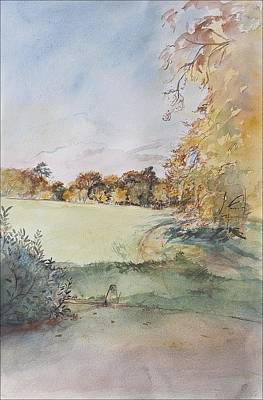 Autumn Print by Caroline Hervey-Bathurst