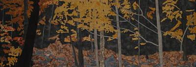 Autumn Carpet Print by Anita Jacques