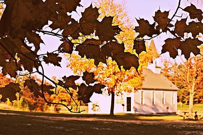 Fall Photograph - Autumn Church by Dawdy Imagery