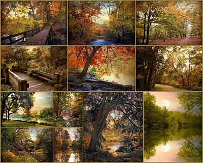 Autumn Landscape Photograph - Autumn Collection by Jessica Jenney