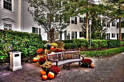 Hdr Photograph - Autumn Display At The Sagamore Resort by David Patterson