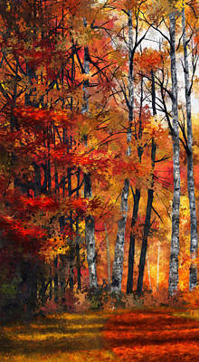 Autumn Glory I Print by Dale Jackson