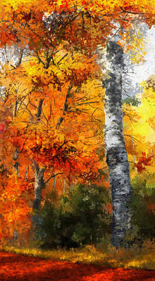 Autumn Glory II Print by Dale Jackson