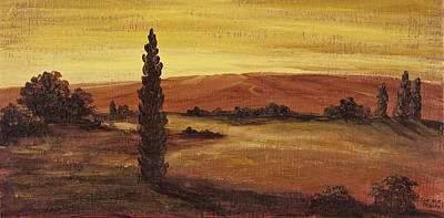 Acrylic Painting - Autumn Glow by Darice Machel McGuire