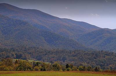 Autumn In Cades Cove Tennessee Print by Dan Sproul