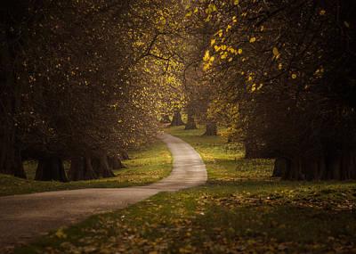 Autumn In Calke Abbey Print by Chris Fletcher