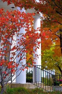 House Of Worship Photograph - Autumn In Long Grove 2 by Julie Palencia