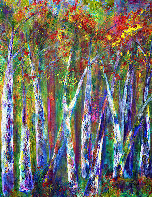 Autumn In Muskoka Print by Claire Bull