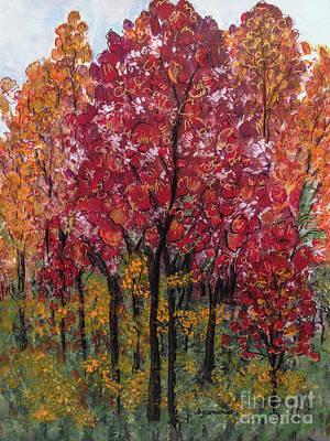 Nashville Painting - Autumn In Nashville by Holly Carmichael