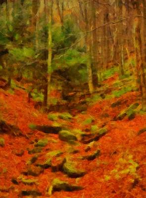 Autumn In Sproul State Forest Print by Dan Sproul