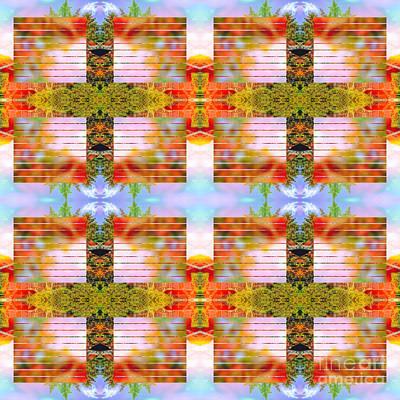 Abstruse Digital Art - Autumn Into Spring by Beverly Claire Kaiya