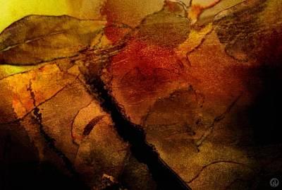 Autumn Leaves  Autumn Comes Print by Gun Legler
