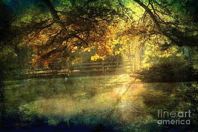 Autumn Light Print by Ellen Cotton