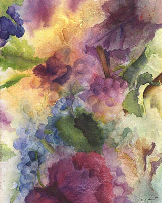 Grapevines Painting - Autumn Magic II by Maria Hunt