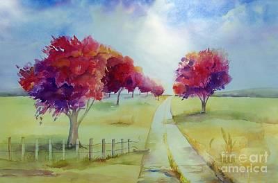 Maryann Painting - Autumn by Maryann Schigur