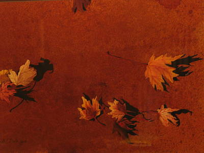 Autumn Offering Print by Carole Poole