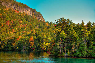 Fir Trees Photograph - Autumn On Lake George by David Patterson