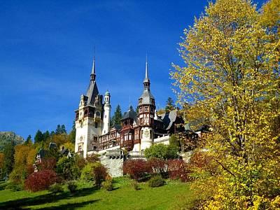 Autumn - Peles Castle Original by Sorin Ghencea