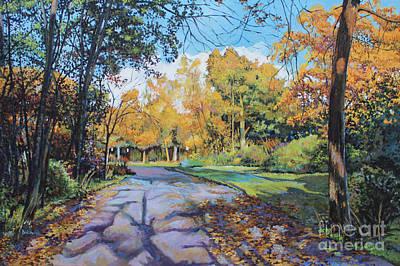 Bukowski Painting - Autumn Red Jacket by William Bukowski