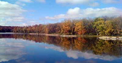 Photograph - Autumn Reflections by Jerry Browning