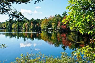 Autumn Reflective Colors Original by Lena Hatch