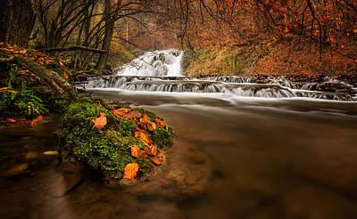 Strandzha Photograph - Autumn River by Evgeni Ivanov