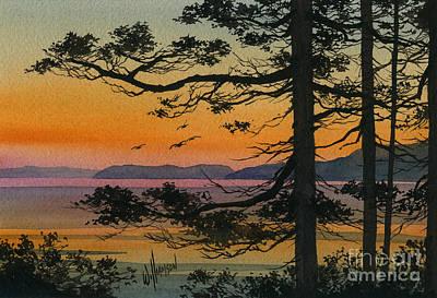 Autumn Shore Print by James Williamson