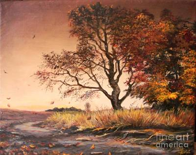 Autumn Simphony In France  Print by Sorin Apostolescu