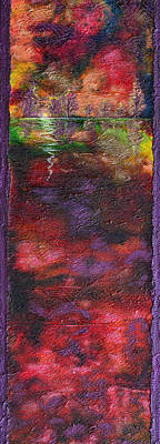 Stormy Weather Mixed Media - Autumn Storm Passes by Donna Blackhall