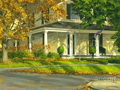 Autumn Sunlight II 18 X 24 Print by Michael Swanson