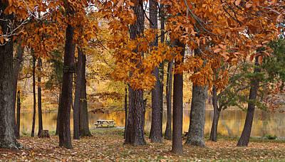 Autumn View Print by Sandy Keeton