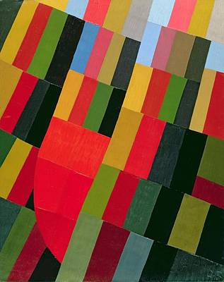 Abstract Creations Photograph - Autumn Vision, 1935 Oil On Canvas by Otto Freundlich